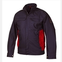 Björnkläder® 772076269 JACKET Navy/Red Flame Retardant A/S Weld Large