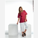 Nytello TUNIC LADIES 1710 V-NECK RED LARGE
