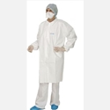 Lab Coat PoliGard 12007344 40 GR White X Large